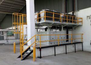 equipos de refrigeración, rack de compresores, unidades condensadoras, chillers, gas cooler, güntner, danfoss, bitzer, refrigeración industrial, refrigeración comercial